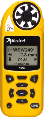 Kestrel 5500 Link Weather Meter