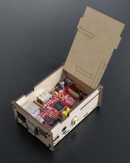RaspberryPiのケース v5.2