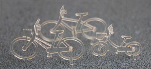 1/50建築模型自転車