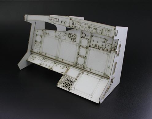 Boeing737コックピット メイン・インストルメント パネルの1/5試作