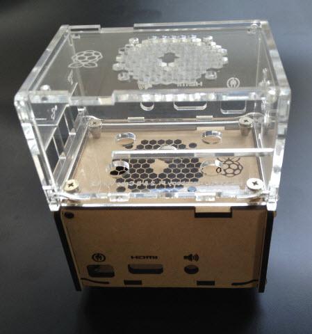 raspberry Pi 3 modelB用アクリルケース
