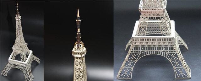 エッフエルタワー建築模型