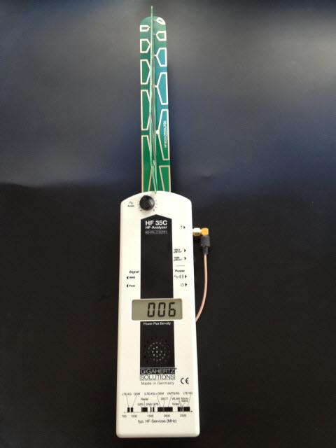 高周波電磁波測定器HF35C